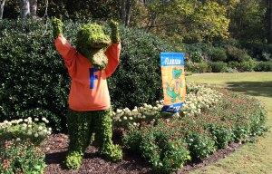 Florida mascot topiary